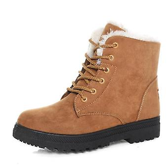 Winter Ankle Boots - Snow Boots Shoes