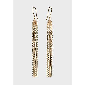 Kalevala Earrings Women's Birds of Paradise Bronze 3602183K
