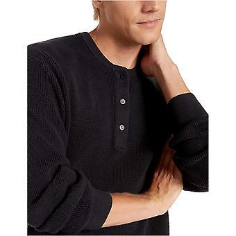 Brand - Goodthreads Men's Soft Cotton Henley Sweater