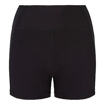 USA Pro X Courtney Black 3 inch Logo Shorts