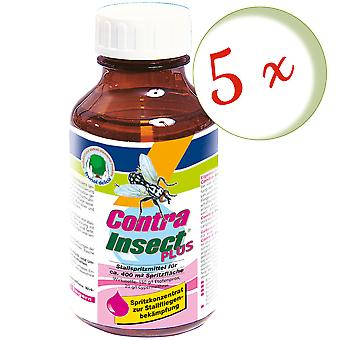 Sparset: 5 x FRUNOL DELICIA® Contra Insect® Plus, 250 ml