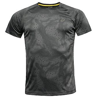 Asics MotionDry Fujitrail Graphic Short Sleeve Mens Running Top 125144 0125 A91E