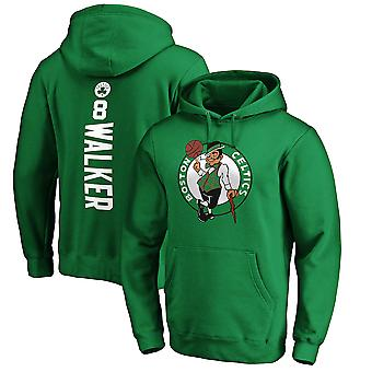 Boston Celtics No.8 Walker Pullover Hoodie Swearshirt Tops 3WY443