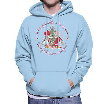 Holly Hobbie JulGnisle och roliga män's Hooded Sweatshirt