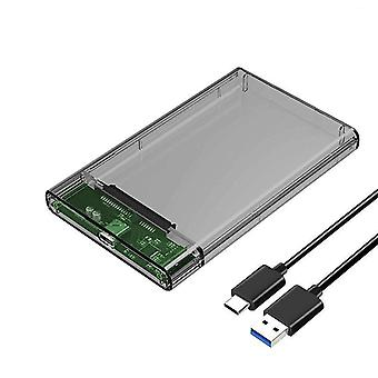 """Type-c Hdd Enclosure Of 2.5"""" Hard Disk Case"""