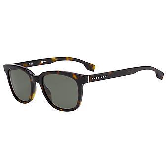 Hugo Boss 1037/S 086/QT Dark Havana/Green Sunglasses