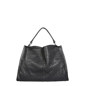 Carditosale Cf1301txc0010 Women's Black Leather Handbag