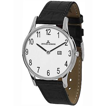 Mens Se Jacques Lemans 1-1936D, Kvarts, 40mm, 5ATM