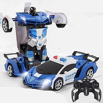 Driving Sports Cars Transformation Robots Vehicle Model Cool Deformation Kids
