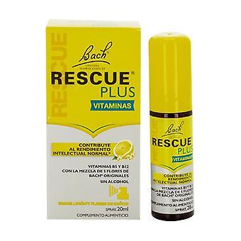 Bach Rescue Plus Vitamins Spray 20 ml