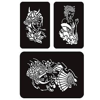 Cones de pasta de tatuagem de henna indiana para corpo de tatuagem temporário