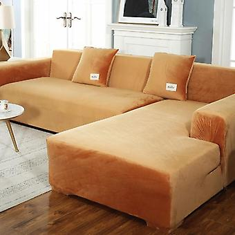 Canapé moelleux Elastic Leather Corner Sectional For Living Room Couch Covers Set