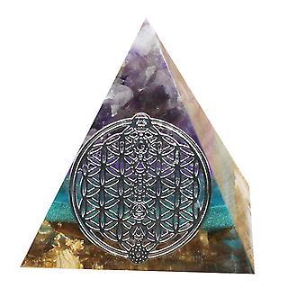 Ogan Energy Pyramid Feng Shui Decoration Natural Crushed Stone