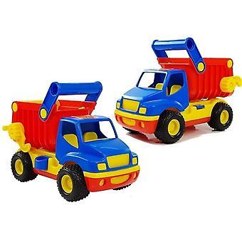 Caminhão de brinquedo - caminhão de lixo - 27x14x18 cm