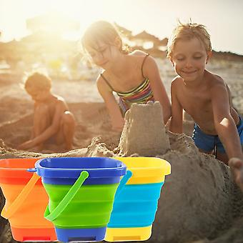 Beach Sand Silicone Folding Bucket Bag