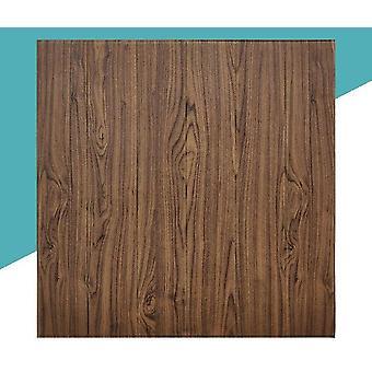 Wood Grain 3d Foam Adhesive Waterproof Wallpaper