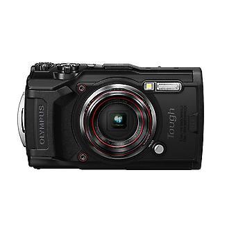 Olympus tough tg-6 action camera, 12 megapixel, digital image stabilisation, 4x wide-angle zoom, 4k wof92265