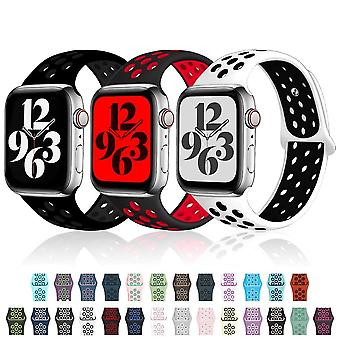 Silicone Strap For Apple Watch ( Set 4)