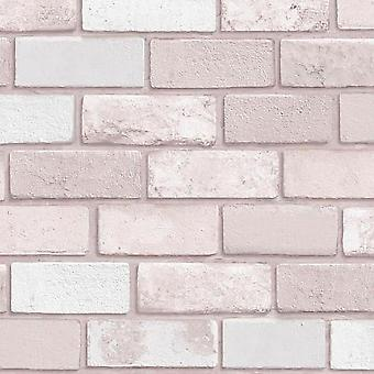 Debona glittery brick effect vinyl wallpaper