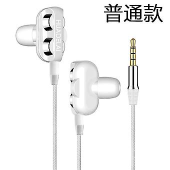 Double Moving Coil Subwoofer Headset With Microphone