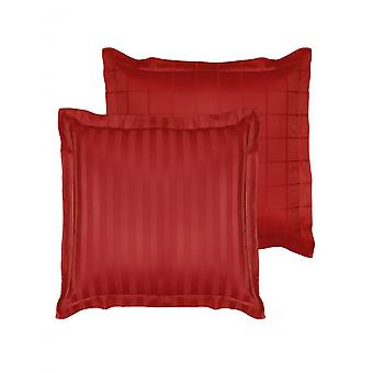 cushion cover Zygo 63x63 cm cotton red