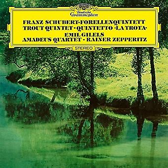 Gilels / Amadeus Quartet - Piano Quintet in a D.667: The Trout / String Quart [Vinyl] USA import