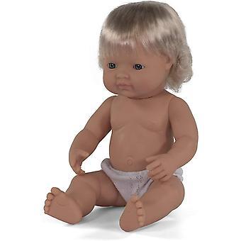 Babypuppe europisches Mdchen 38cm-31052
