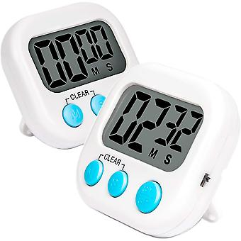 Kitchen Timer For Cooking Baking 2 Pack