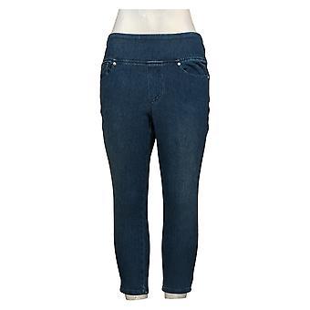 Belle by Kim Gravel Flexibelle Women's Jeans Petite Jegging Blue A392575