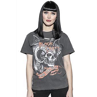 Blackcraft Cult Ride Like Hell Distressed Vintage T-Shirt