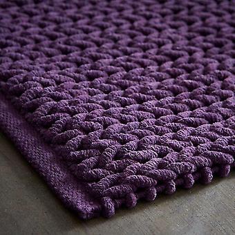 FengChun 576323 Badematte, Violett, 50 x 80 cm