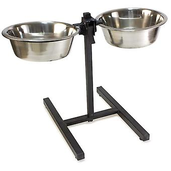 Arquivet Support High Steel 2 Feeders 2,8L (Dogs , Bowls, Feeders & Water Dispensers)