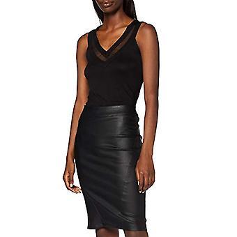 Morgan Debardeur with V DZANA T-Shirt, Black (Noir), X-Small (Manufacturer Size: TXS) Women's