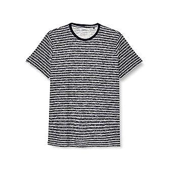 Joules Textured Tee T-Shirt, Multicolored (Indigo Stripe Indigostrp), XX-Large Men