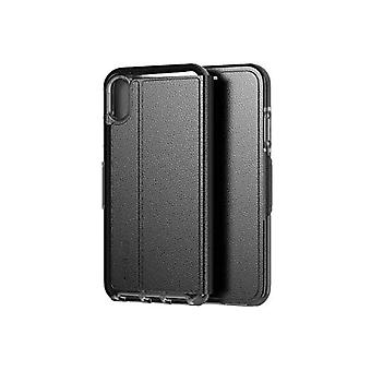 tech21 T21-6142 Evo Wallet Protective Case for Apple iPhone XS Max - Black