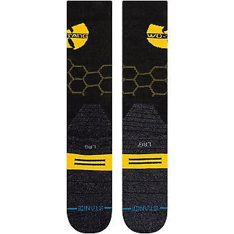 Stance Wu Tang Hive (Wu Tang Clan) Chaussettes de neige en noir
