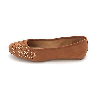 Style & Co. Womens Averlay Fabric Closed Toe Ballet Flats