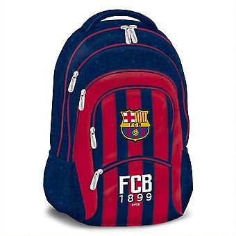 FC Barcelona Rucksack mit 5 Fächern in Rot und Blau