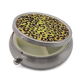 Boîte à pilules avec impression Leopard - 50.5