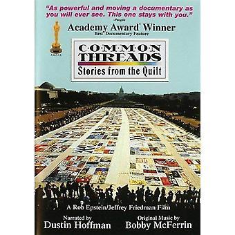 Common Threads - Histoires du DVD Quilt