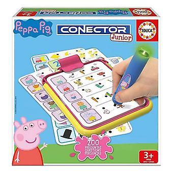 Pädagogisches Spiel Conector Junior Peppa Pig Educa