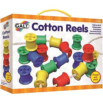 Cotton Reels Play & Learn Toy