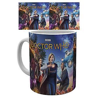 Doctor Who gruppen mugg
