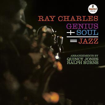 Ray Charles - Genius + Soul = Jazz Vinyl