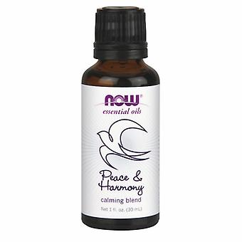 Now Foods Peace and Harmony Oil Blend, Calming, 1oz