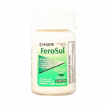Major Pharmaceuticals Mineral Supplement Feosol Iron 325 mg Strength Tablet 100 per Bottle, 100 Tabs
