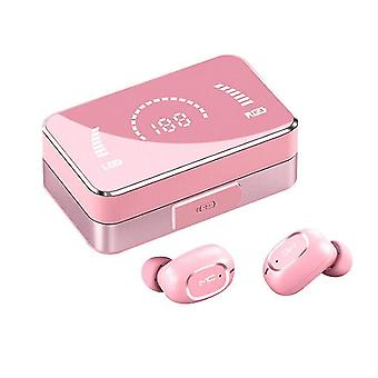 3000mah Charging Compartment Wireless Charging Box With Built-in Bluetooth Headset