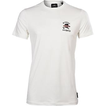 O'Neill Walk & Water Hybrid T-Shirt, Powder White