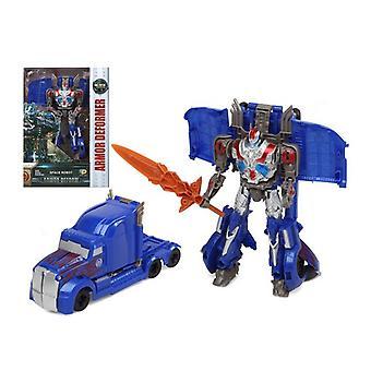 تحويل سوبر روبوت درع مشوه الأزرق