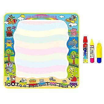 Barnas Magic Doodle Mat Med Magiske Penner, Vann Fargerik Matte For Barn Barn Aktivitet